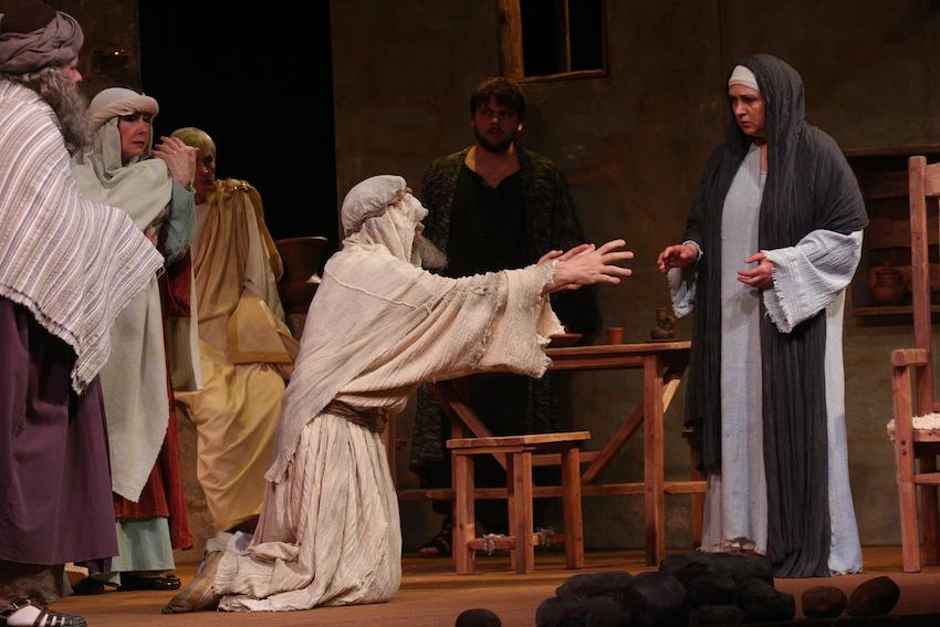 Елена Цыплакова представляет спектакль «Мать Иисуса»