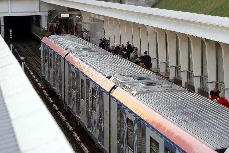 Западный вестибюль станции «Фили» голубой ветки метро закрыт для пассажиров до 18 ноября