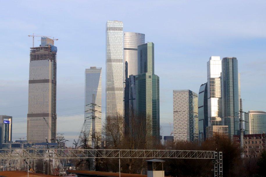 В «Москва-Сити» построили 79-этажный небоскреб Neva Towers