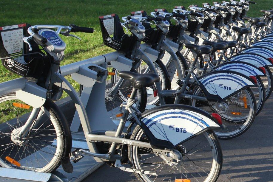 В Москве завершился сезон велопроката