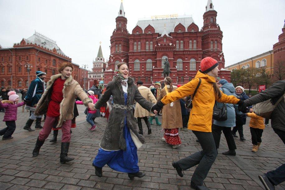 Фестиваль «День народного единства» стартовал в Москве