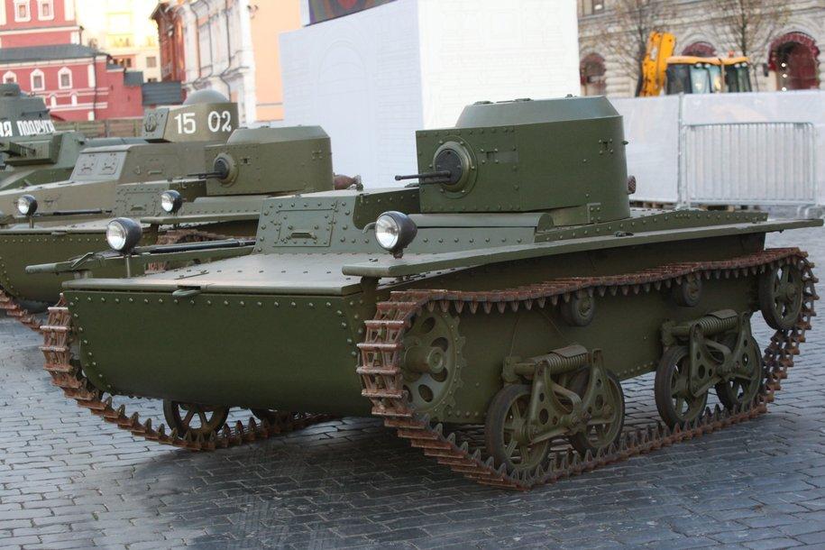 В парке «Сокольники» откроется танкодром