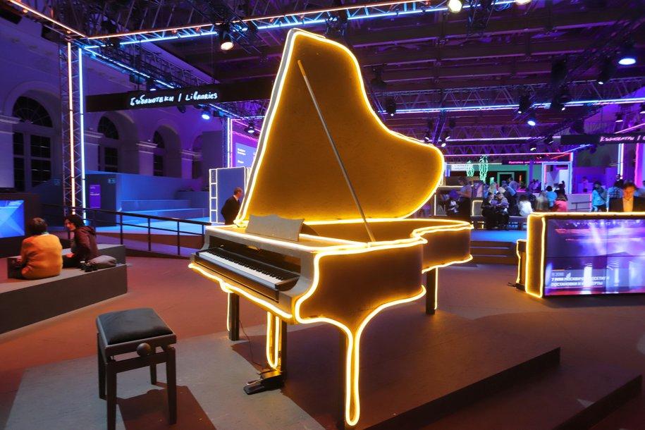 Зимний рояль с подогревом клавиш появится в парке «Сокольники»