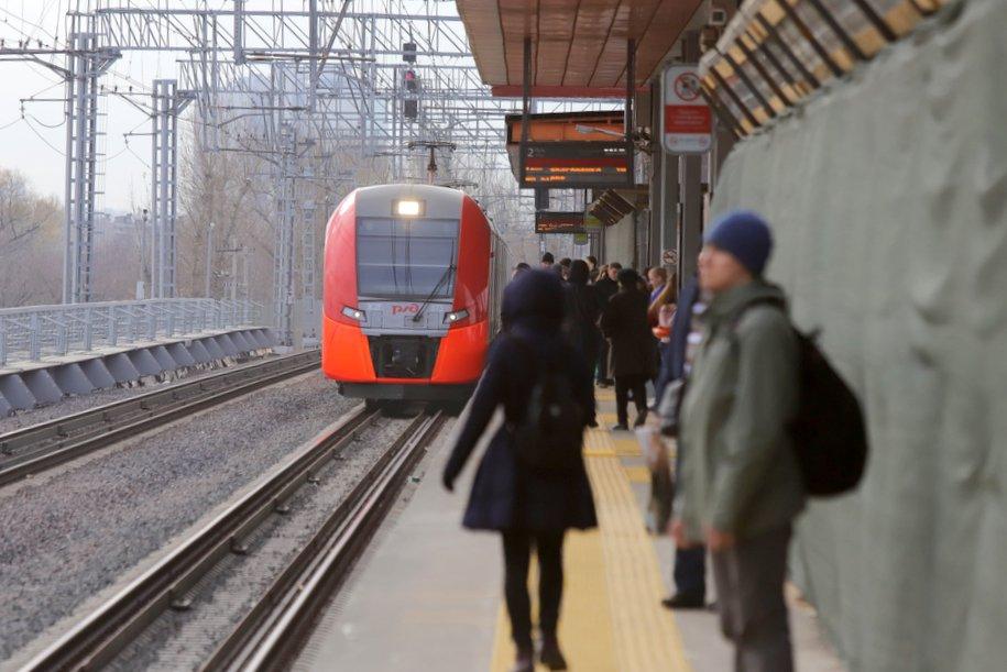 Поезда по МЦК перевезли рекордное количество пассажиров