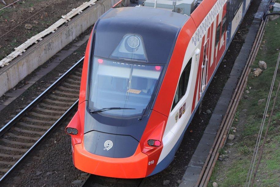 Поезда на МЦД-2 в утренний час пик курсировали в штатном интервале