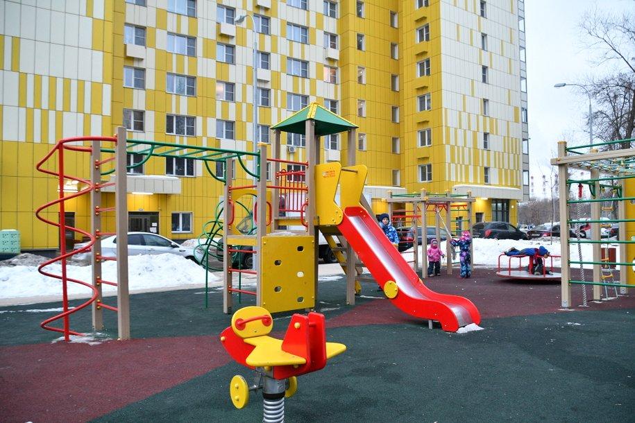 На северо-западе Москвы введен детский сад с бассейном