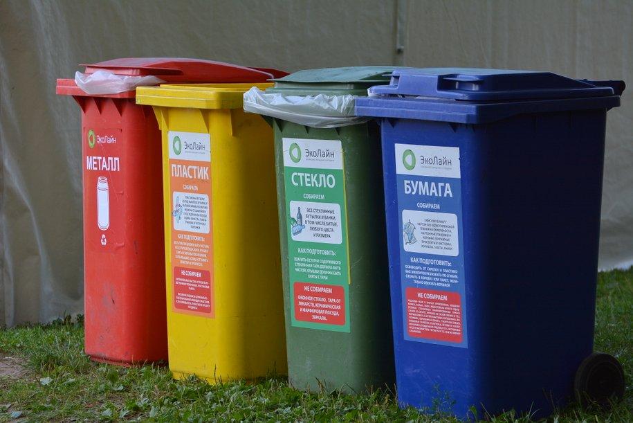 97% контейнерных площадок дворовых территорий столицы подготовлено к раздельному сбору мусора