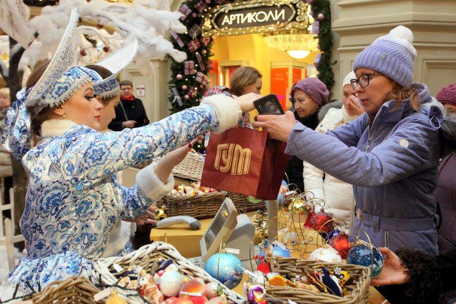 Какие новогодние подарки выбирают москвичи для себя и близких