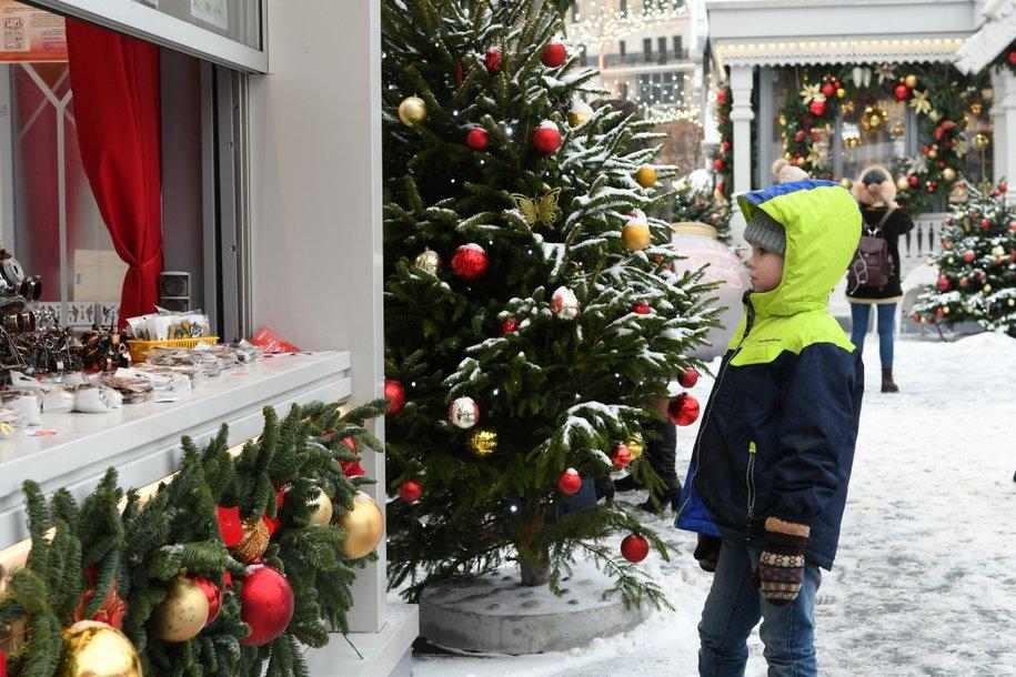Сергей Собянин посоветовал москвичам покупать новогодние елки на городских базарах