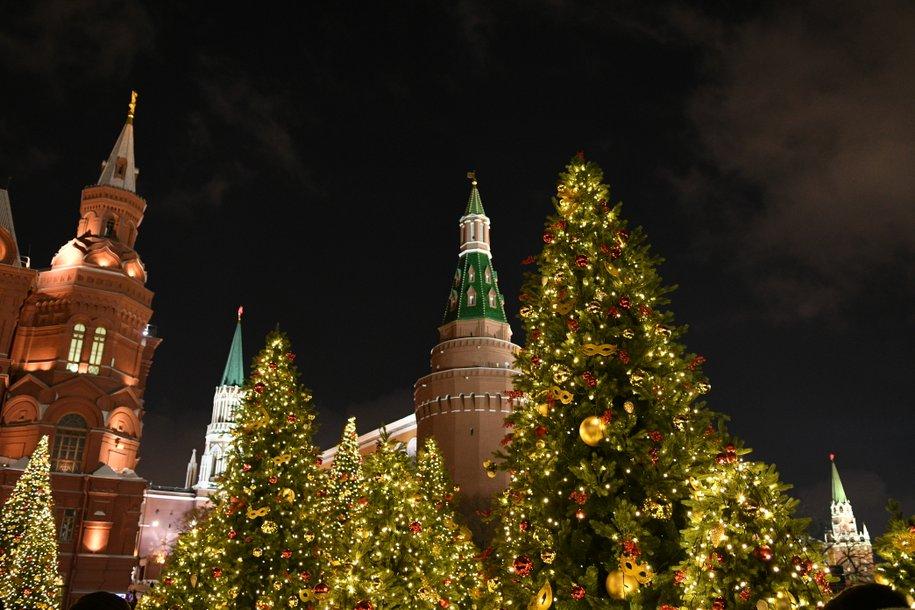 25 декабря в Кремле состоится общероссийская новогодняя елка