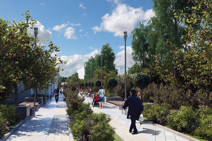 Сквер и мост через Яузу появятся в ТПУ «Электрозаводская»