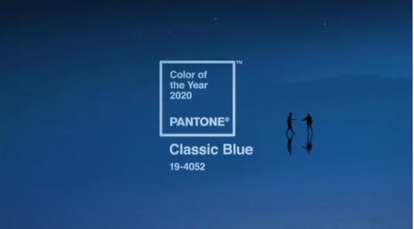 «Классический синий» стал главным цветом 2020 года