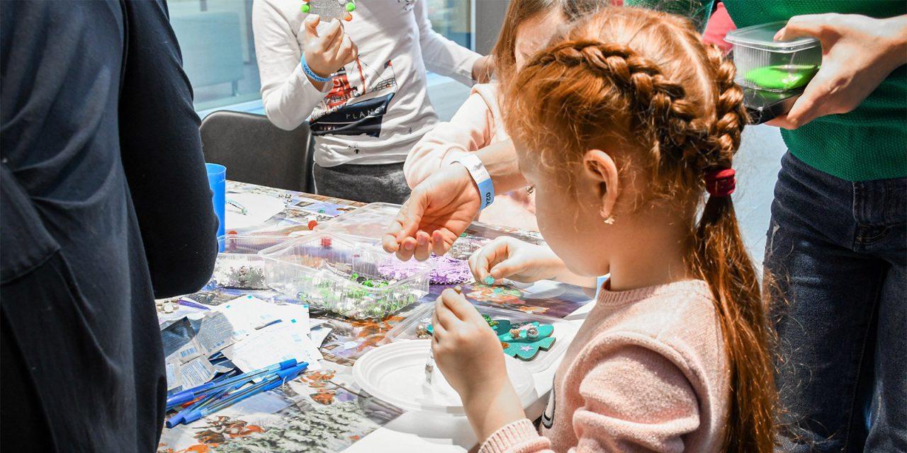 В образовательном комплексе «Техноград» прошел новогодний фестиваль «Фабрика подарков»