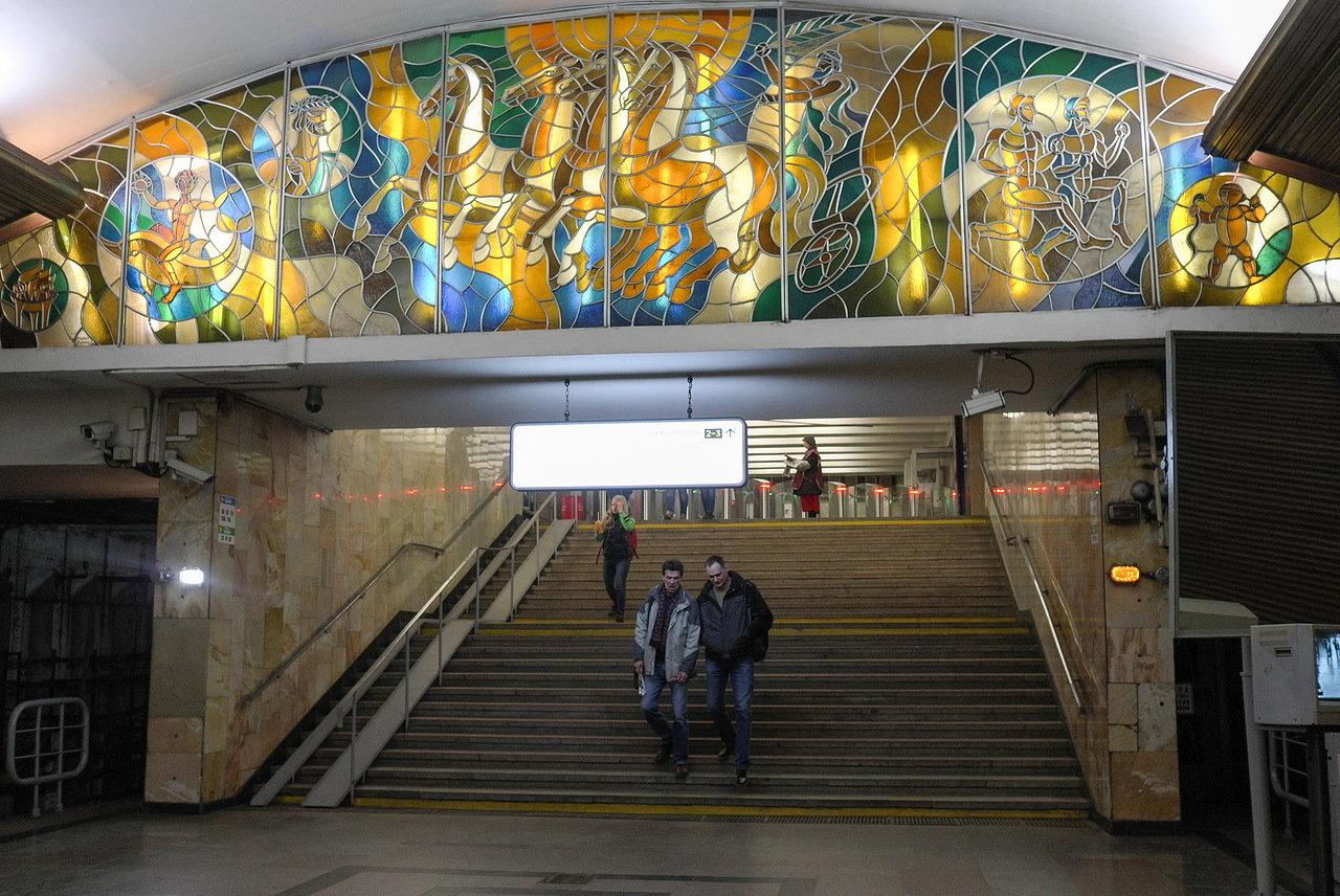 Входы и выходы из метро у стадиона «РЖД Арена» могут ограничить из-за футбольного матча