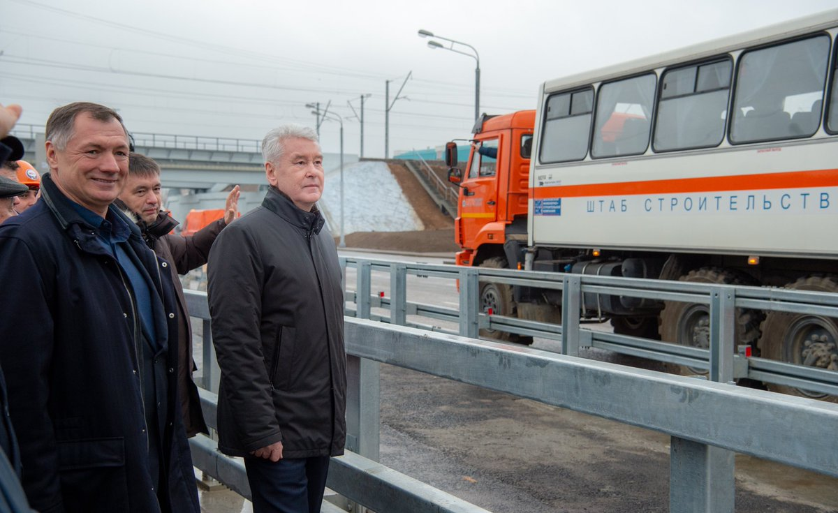 Сергей Собянин открыл новый участок Южной рокады — от Балаклавского до Пролетарского проспекта