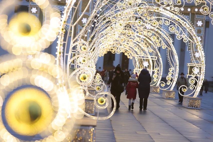 Площадки фестиваля «Путешествие в Рождество» в новогоднюю ночь будут работать до 3:00