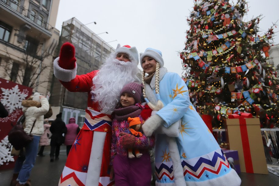 Жители Москвы проголосуют за праздничную программу на Новый год