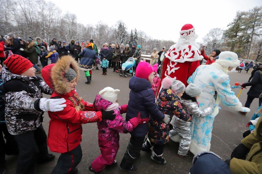 В столице запустили информационный проект «Новогодняя Москва»