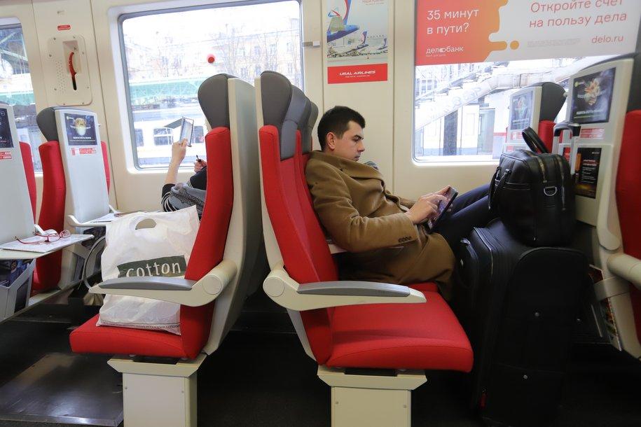 В Москве представили обновленный Сапсан