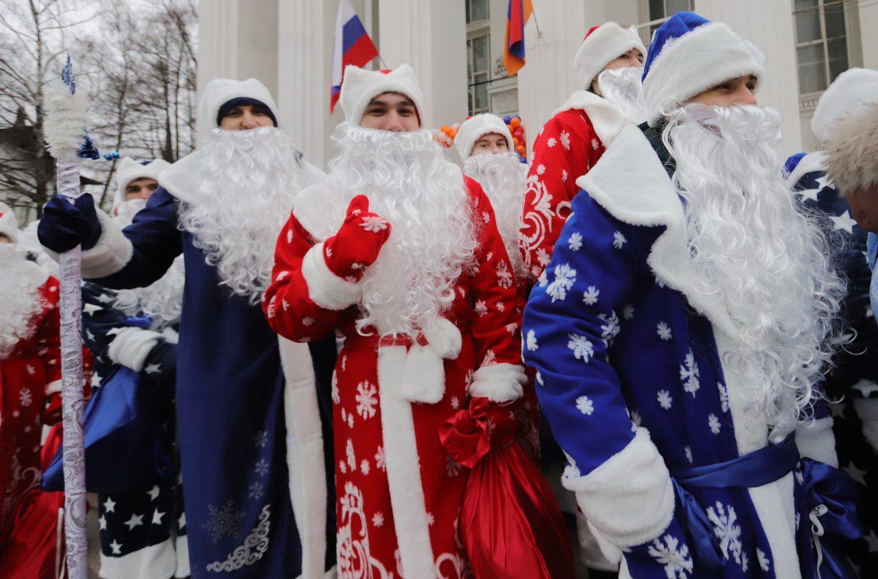 Более 270 крупных новогодних мероприятий пройдет в Москве