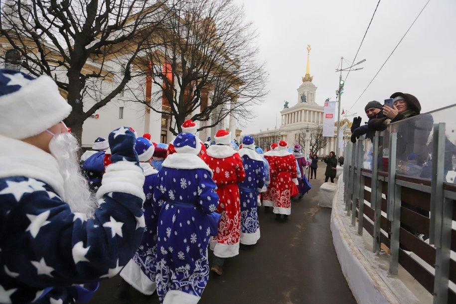 Парад Дедов Морозов проведут в рамках фестиваля «Путешествие в Рождество»