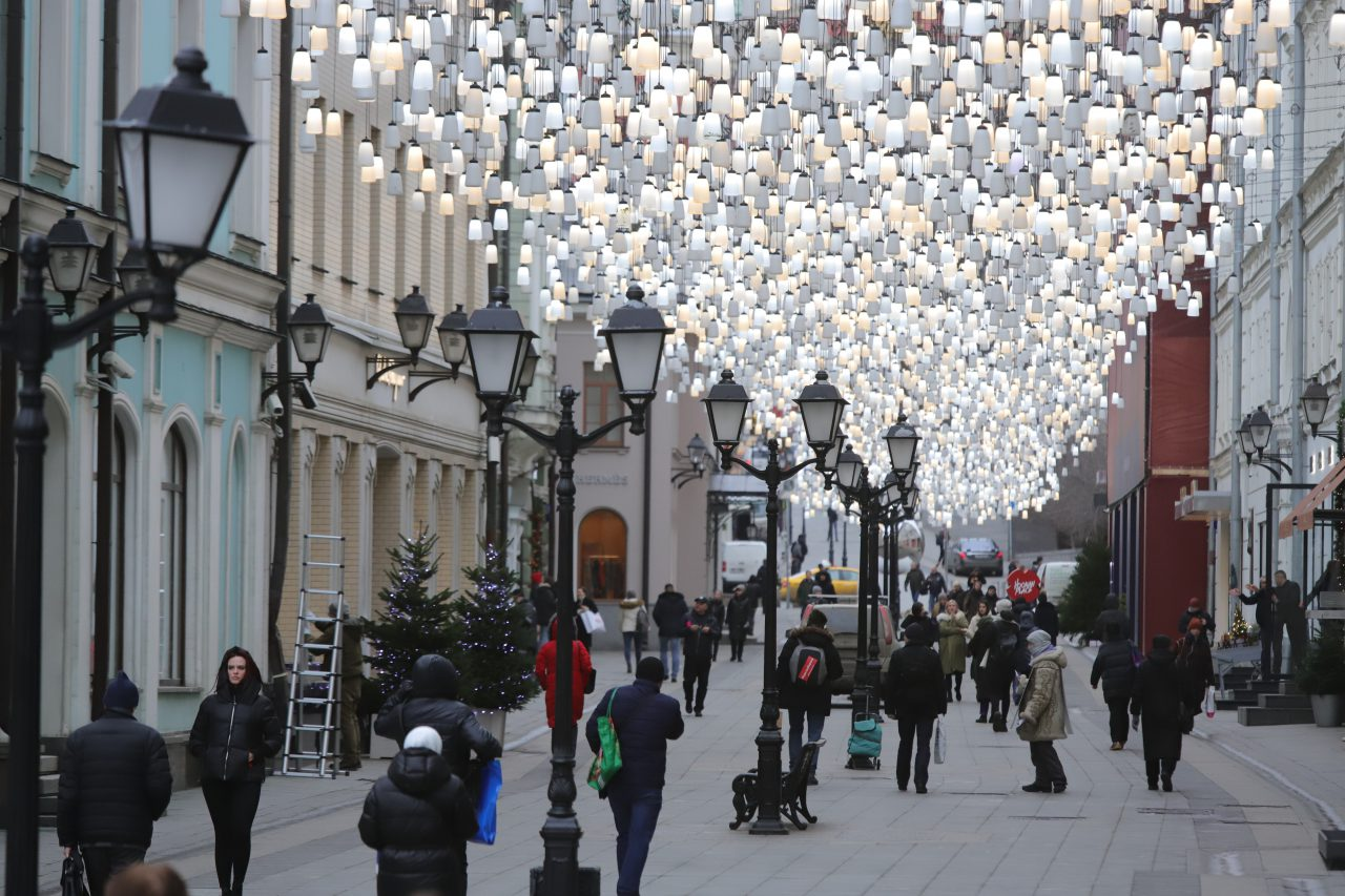 Синоптики фиксируют «розовую зиму» в Москве в декабре