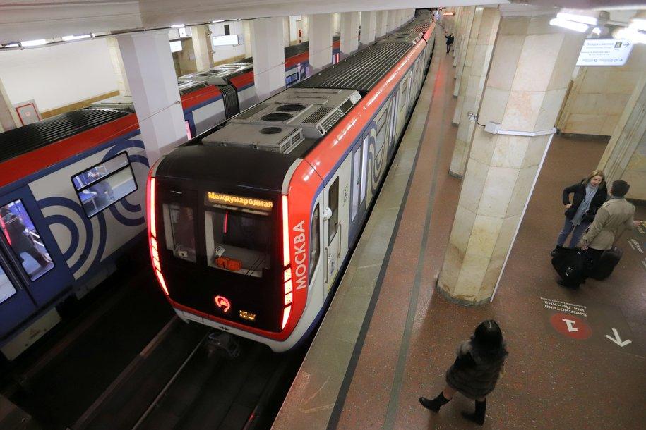 В следующем году столичный метрополитен получит около 700 вагонов поездов «Москва»