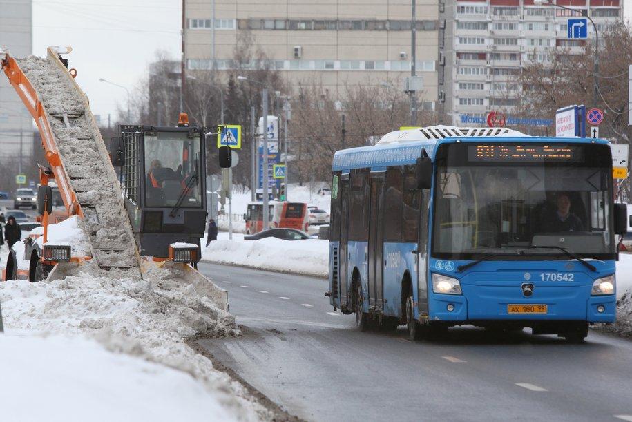 ЦОДД попросил автомобилистов пересесть на городской транспорт из-за ожидаемой в столице метели