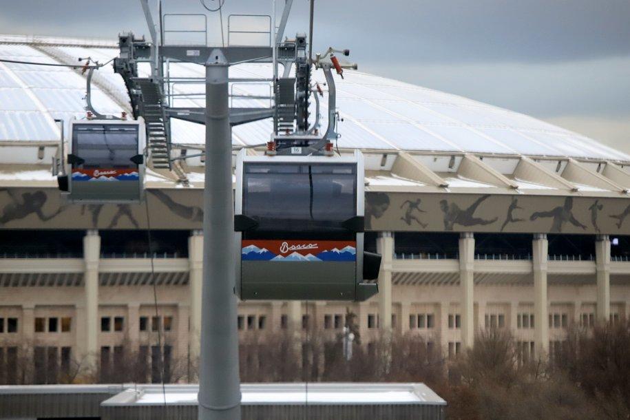 Московская канатная дорога будет работать в новогоднюю ночь до 5:00
