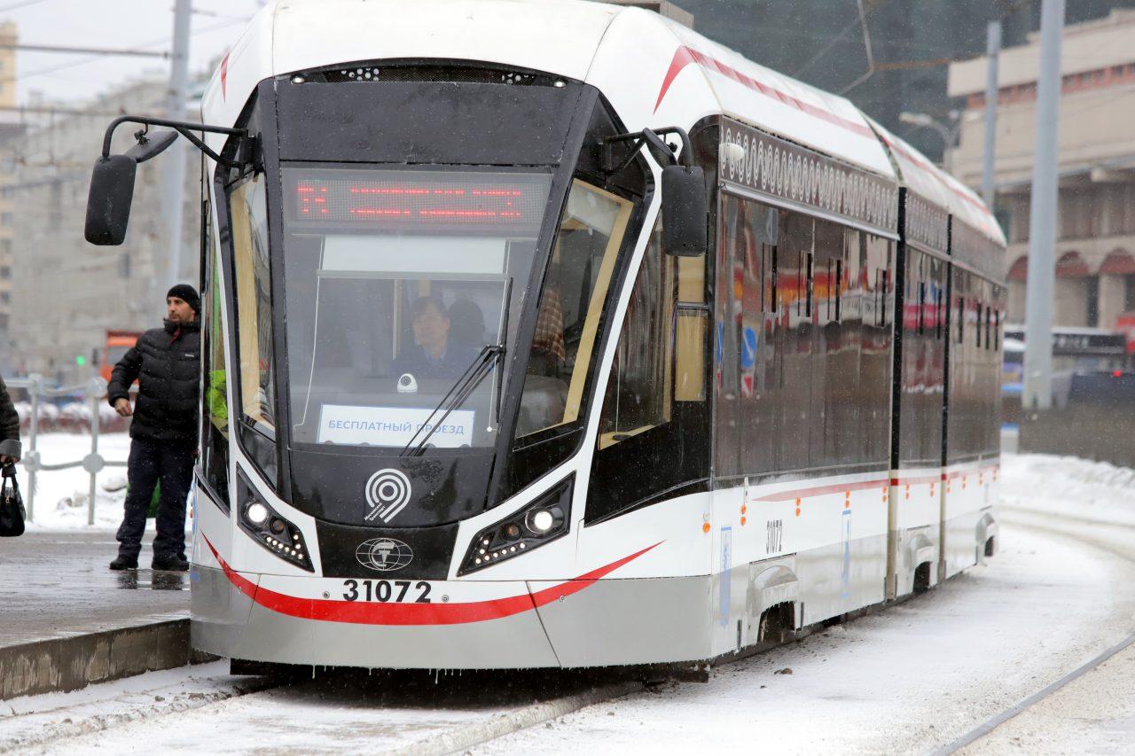 На улице Шаболовке отремонтируют трамвайные пути