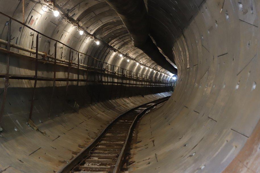 Восточный участок Большой кольцевой линии готов на 32%