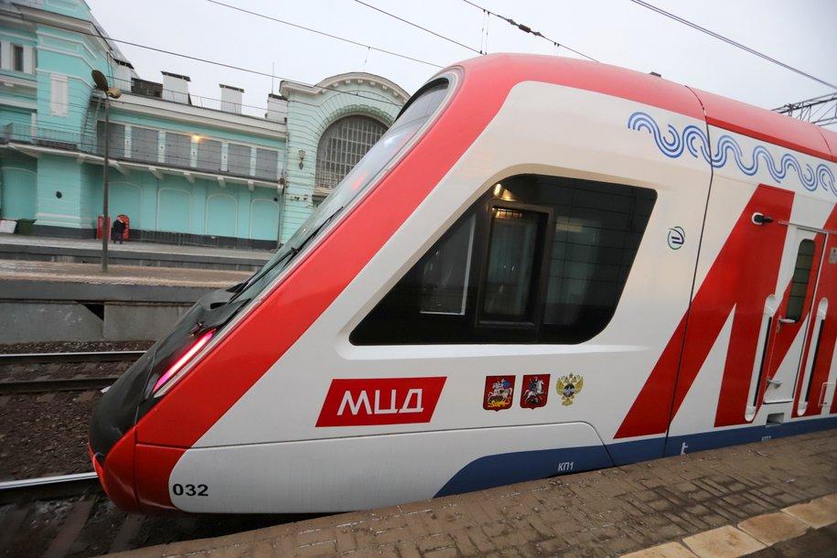 Почти 555 тыс. поездок совершили пассажиры МЦД 27 декабря