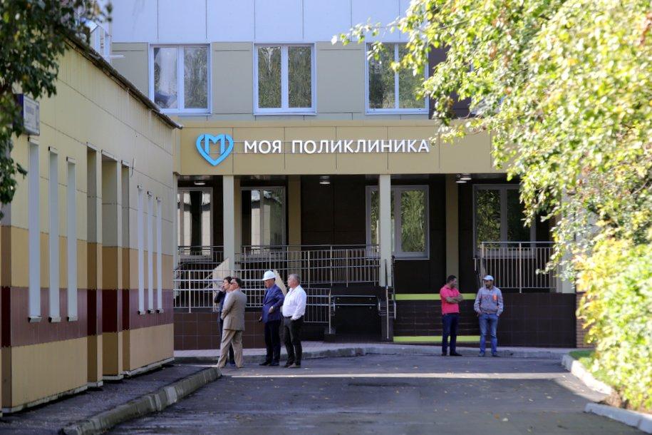 Более 30 поликлиник проектируют и строят в Москве