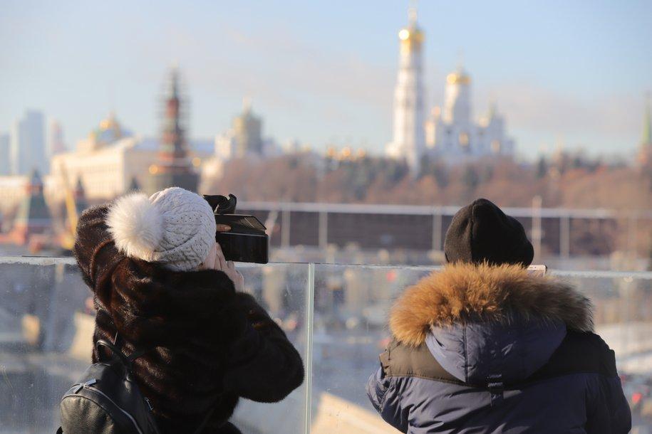 Понедельник в Москве стал самым теплым днем с начала зимы