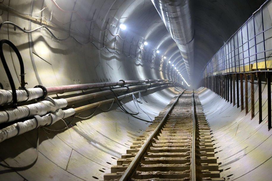 Технический поезд проехал по участку БКЛ метро от «Авиамоторной» до «Лефортово»