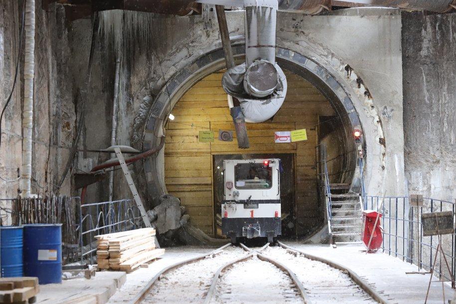 Завершена проходка однопутных тоннелей на юго-западном участке БКЛ