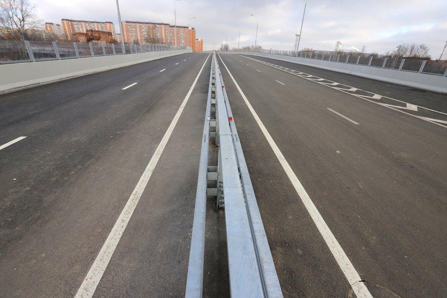Почти 13 километров дорог построили в Нагатинской пойме