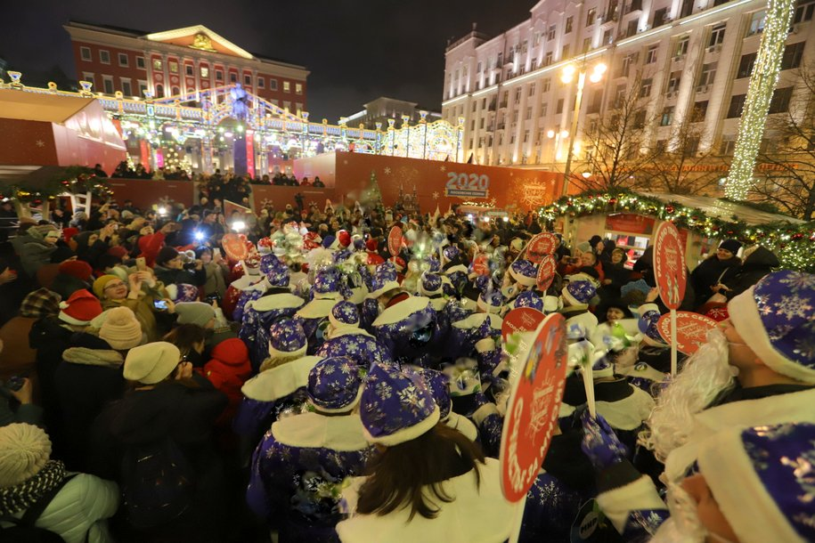 Более 200 мастер-классов посетили гости «космического» праздника на Тверской улице