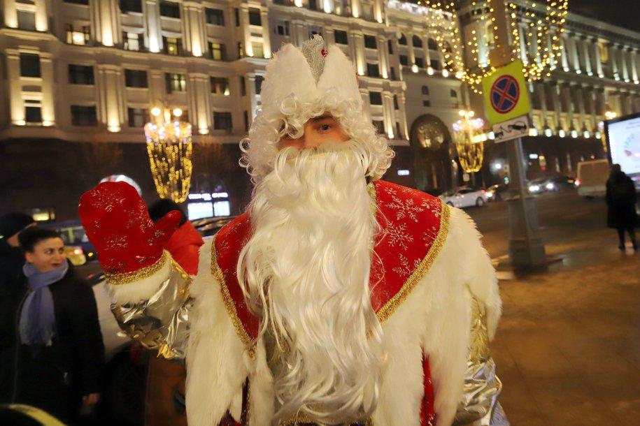 «Космическая» новогодняя программа стартует в 11:00 на ул. Тверская в Москве