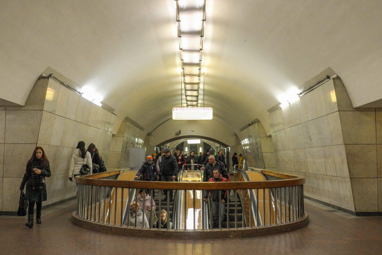 Входы и выходы на станции «Лубянка» Сокольнической линии метро могут быть ограничены