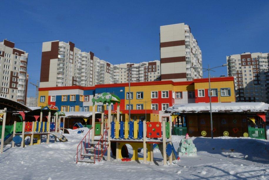 В первом квартале 2020 года в ТиНАО будут заселены 4 детских сада