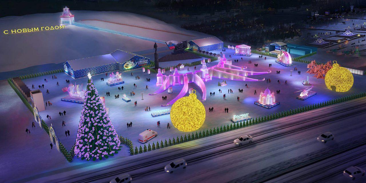 Парк ледяных скульптур появится на Поклонной горе