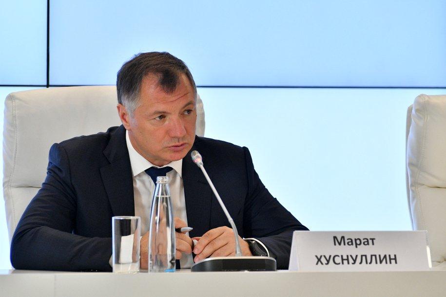 Марат Хуснуллин и Виталий Мутко обсудили программу развития жилищного строительства в Москве