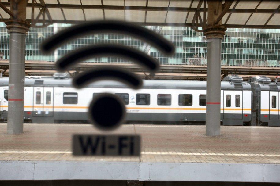 Три железнодорожных вокзала в Москве стали лидерами в стране по доступу к Wi-Fi в новогодние праздники