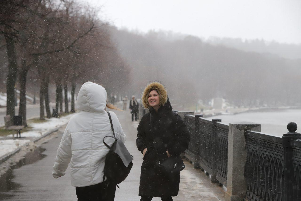 В Москве продлён «жёлтый» уровень погодной опасности из-за гололедицы