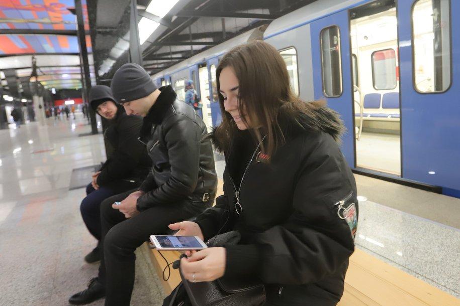 Более 32 млн пассажиров воспользовались метро и МЦК в новогодние праздники