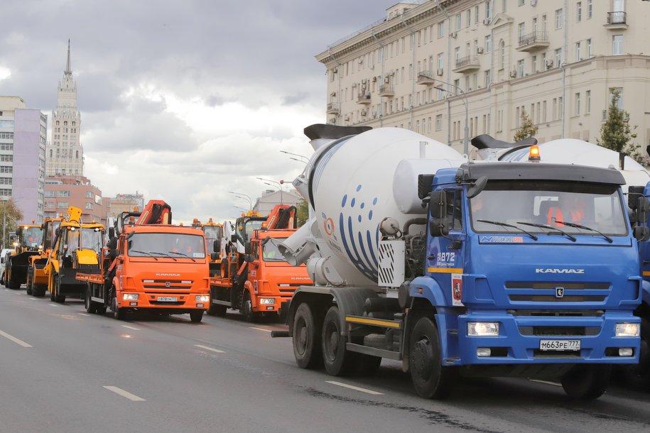 В Москве вступит в силу запрет на транзитное движение грузовиков