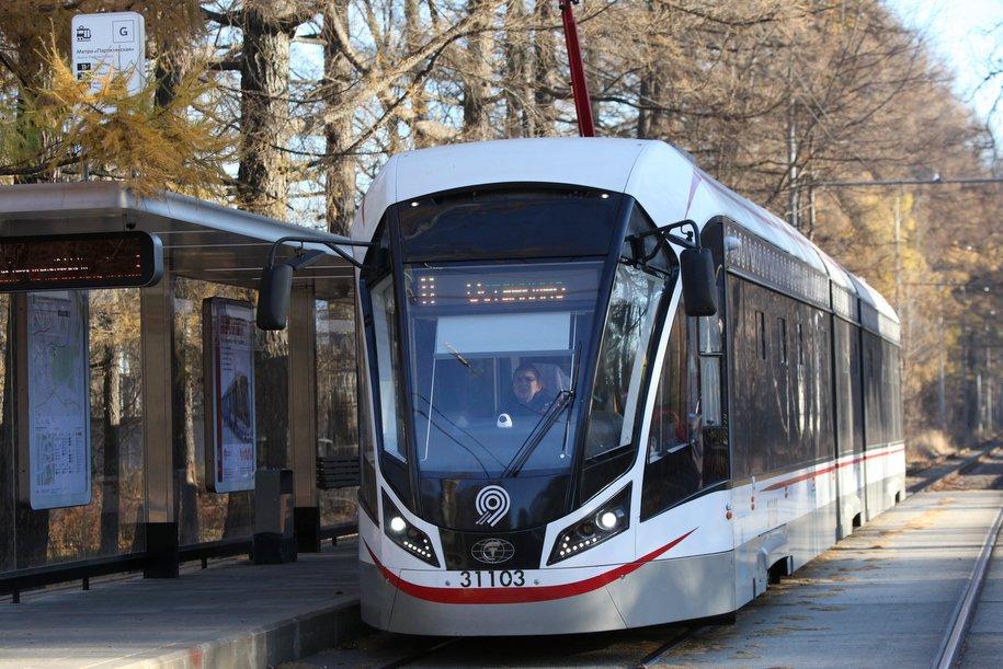 Почти 90 млн пассажиров перевезли трамваи «Витязь-Москва» в 2019 г.