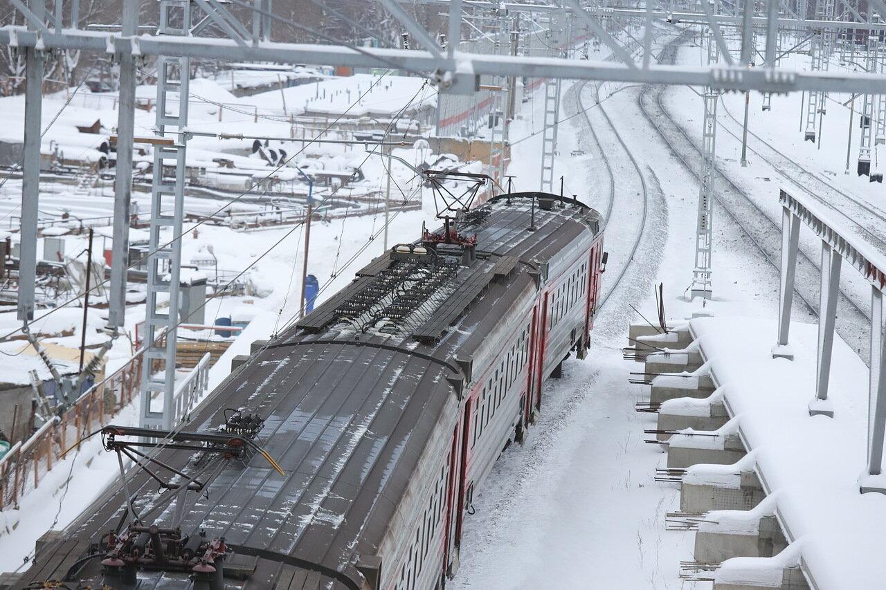 На участке Москва-Мытищи построили новые ж/д пути