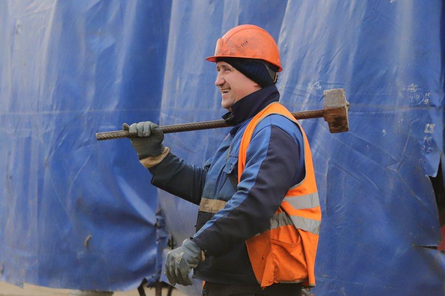 В новогодние праздники на строительстве метро работало более 10 тысяч человек